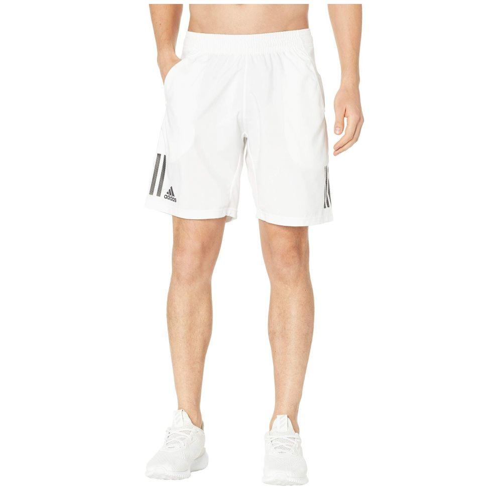 アディダス adidas メンズ ボトムス・パンツ ショートパンツ【Club 3-Stripes Shorts 9】White/Black