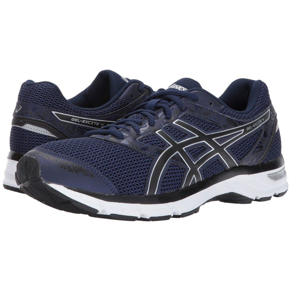 アシックス ASICS メンズ ランニング・ウォーキング シューズ・靴【Gel-Excite 4】Indigo Blue/Black/Silver