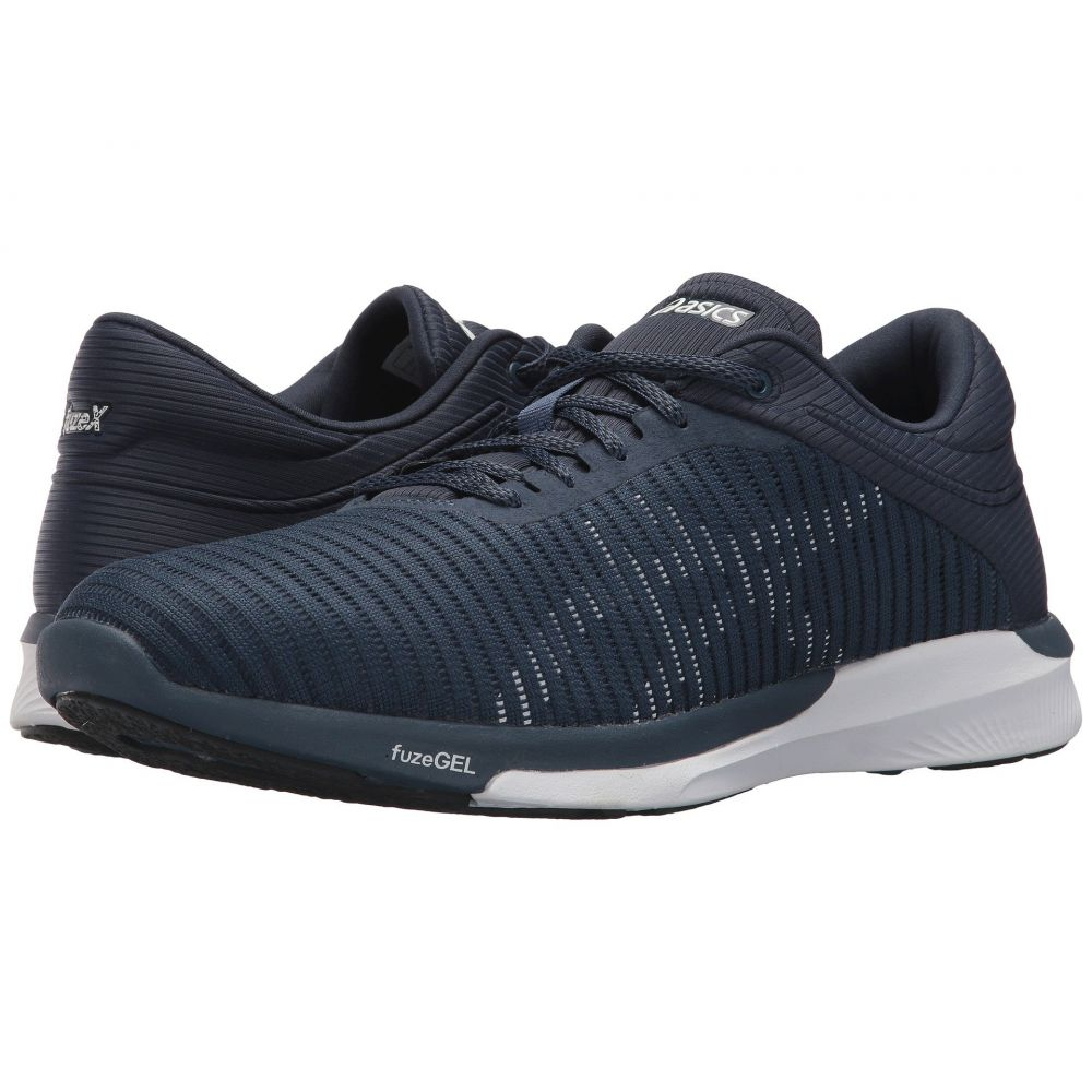 アシックス ASICS メンズ ランニング・ウォーキング シューズ・靴【fuzeX Rush Adapt】Dark Blue/White/Smoke Blue