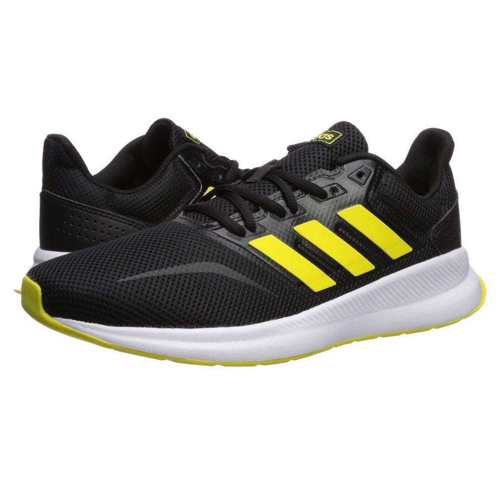 アディダス adidas メンズ ランニング・ウォーキング シューズ・靴【Falcon】Core Black/Shock Yellow/Footwear White