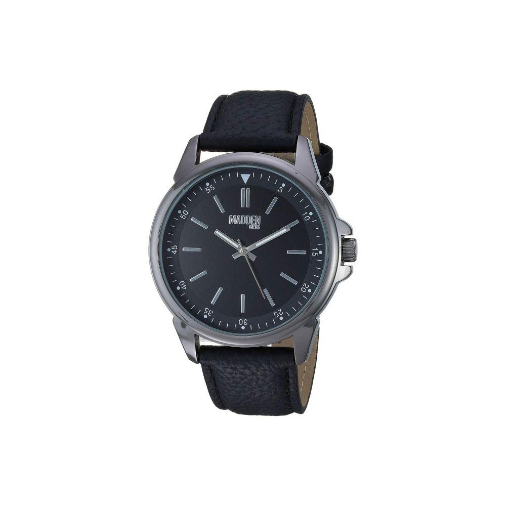 スティーブ マデン Steve Madden メンズ 腕時計【Madden Men Analog Strap Watch with Pendant Necklace SMMS022】Black