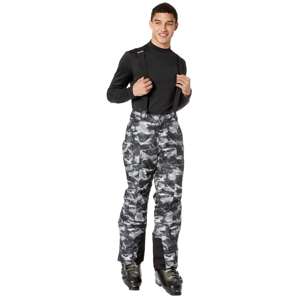 スパイダー Spyder メンズ スキー・スノーボード ボトムス・パンツ【Sentinel Regular Pants】Camo Distress Black/Black