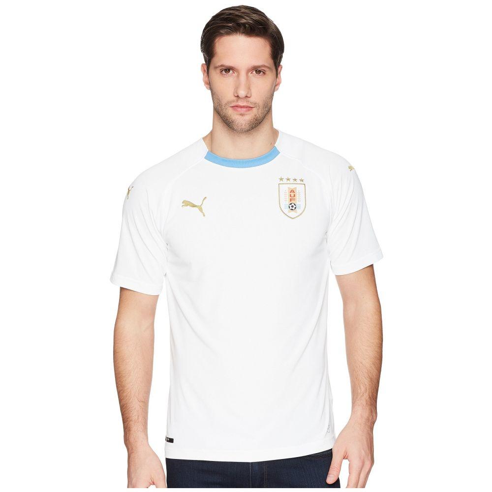 プーマ PUMA メンズ トップス【Uruguay Away Replica Shirt】Puma White/Silver Lake Blue
