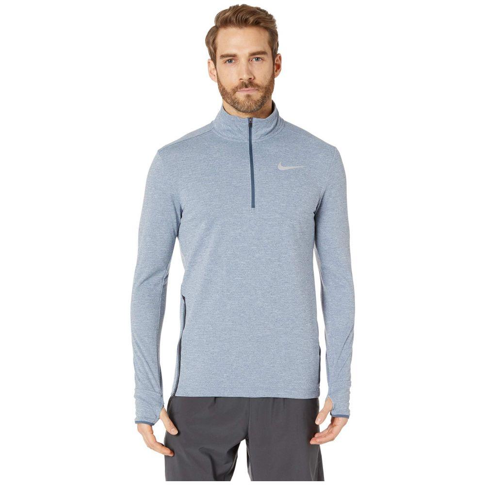 ナイキ Nike メンズ トップス【Sphere Element Top 1/2 Zip 2.0】Monsoon Blue/Heather/Reflective Silver
