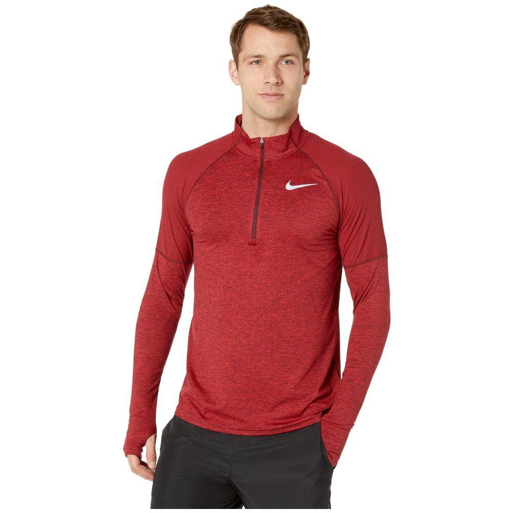 ナイキ Nike メンズ トップス【Element Top 1/2 Zip 2.0】Night Maroon/Gym Red/Reflective Silver