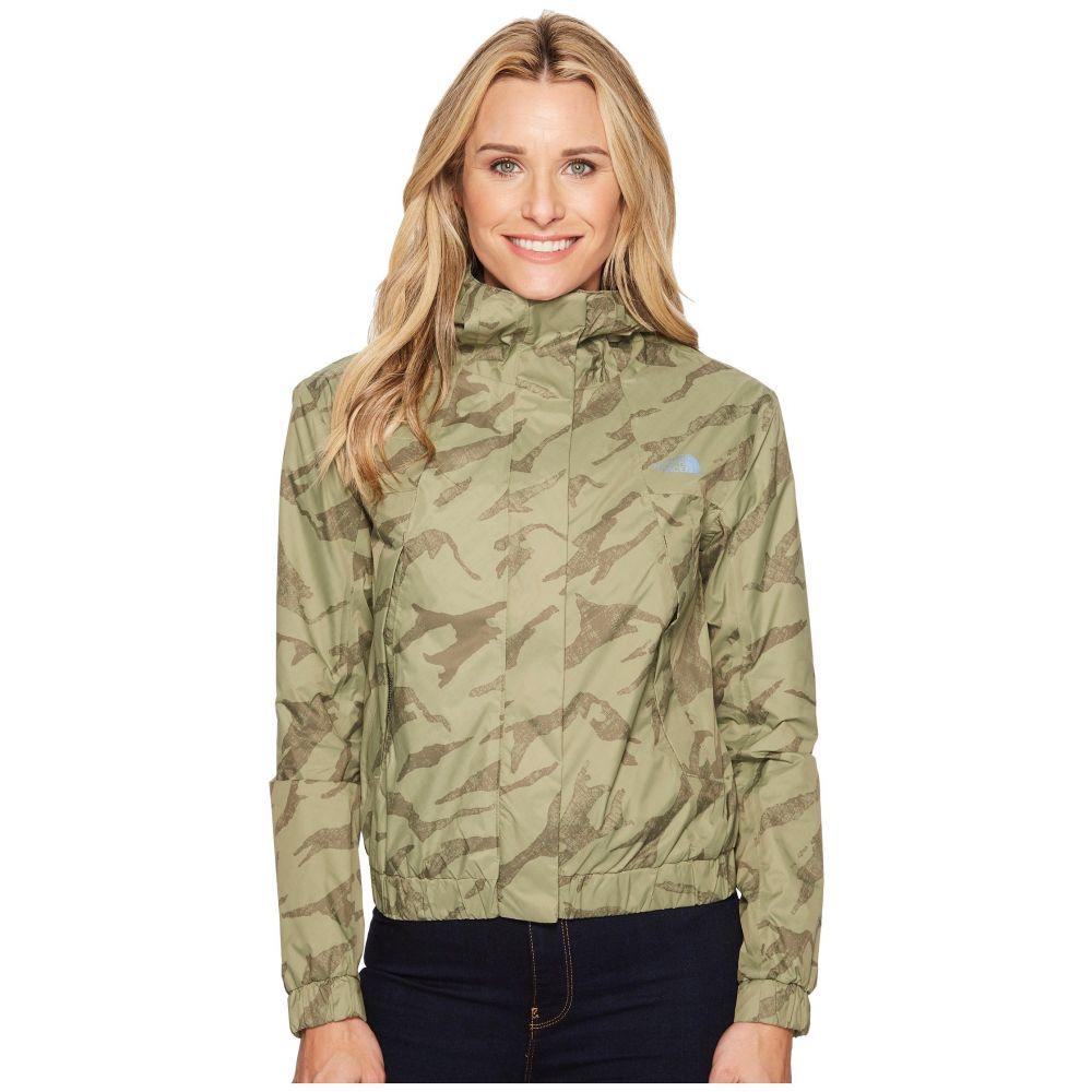 ザ ノースフェイス The North Face レディース アウター レインコート【Precita Rain Jacket】Deep Lichen Green Marker