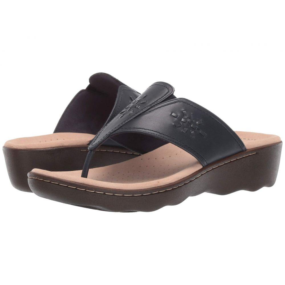 クラークス Clarks レディース シューズ・靴 ビーチサンダル【Phebe Mist】Navy Leather