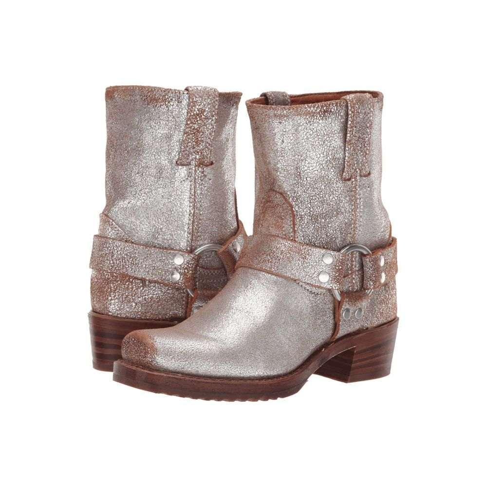 都内で フライ Frye レディース Frye Brushed シューズ・靴 Multi ブーツ【Harness 8R】Silver Multi Brushed Metallic, オクタママチ:4346f6dd --- dmarketingland.in