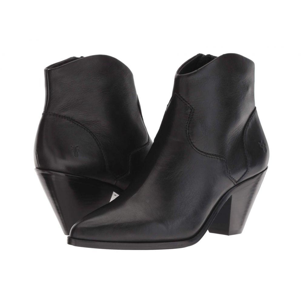 フライ Frye レディース シューズ・靴 ブーツ【Lila Western Short】Black Polished Soft Full Grain