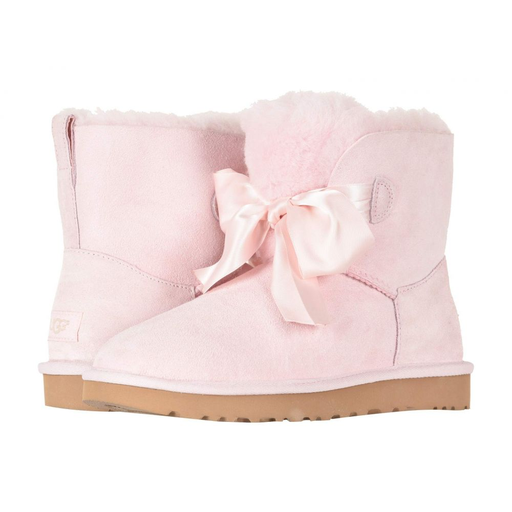 アグ UGG レディース シューズ・靴 ブーツ【Gita Bow Mini Boot】Seashell Pink