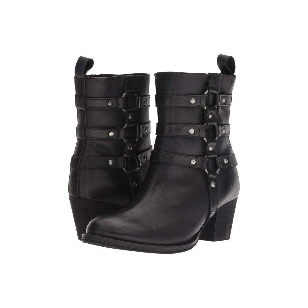 ディンゴ Dingo レディース シューズ・靴 ブーツ【Noir】Black Leather