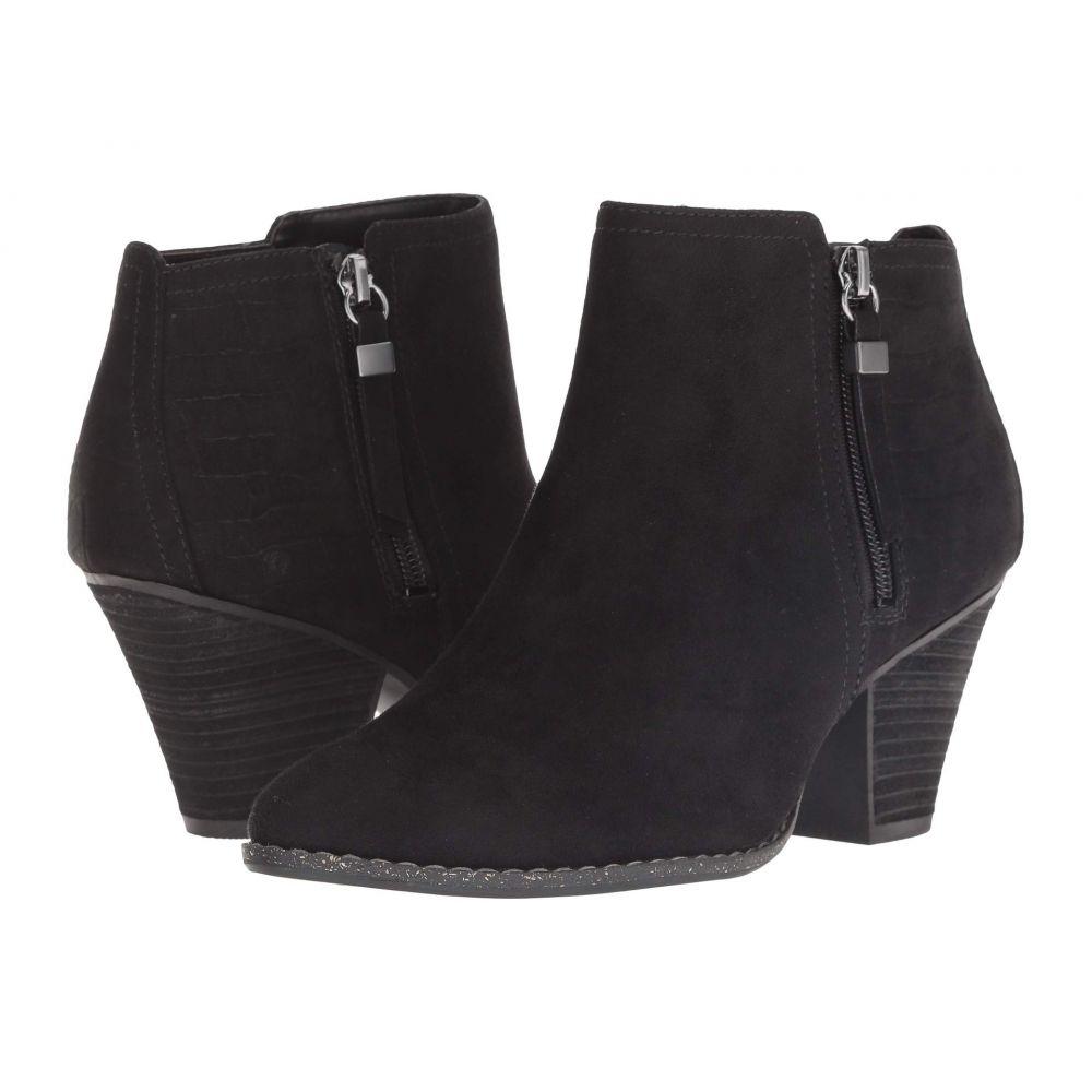 ドクター ショール Dr. Scholl's レディース シューズ・靴 ブーツ【Cunning】Black Microfiber
