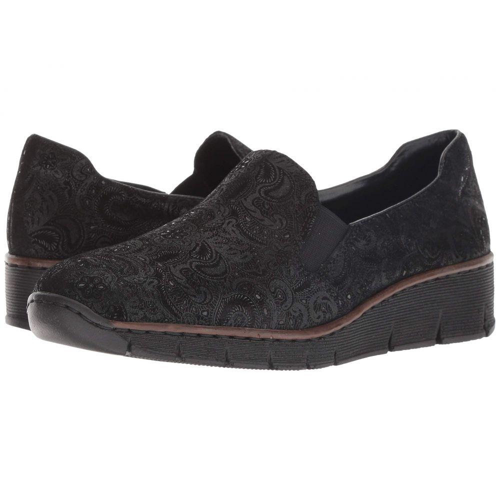 リエカー Rieker レディース シューズ・靴 ローファー・オックスフォード【53766 Doris 66】Black