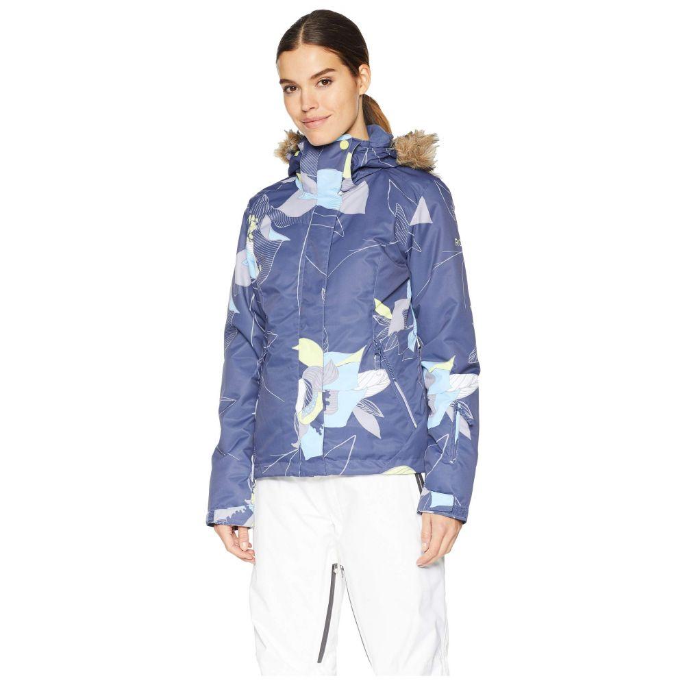 ロキシー Roxy レディース スキー・スノーボード アウター【Jet Ski 10K Jacket】Crown Blue Bold Petal