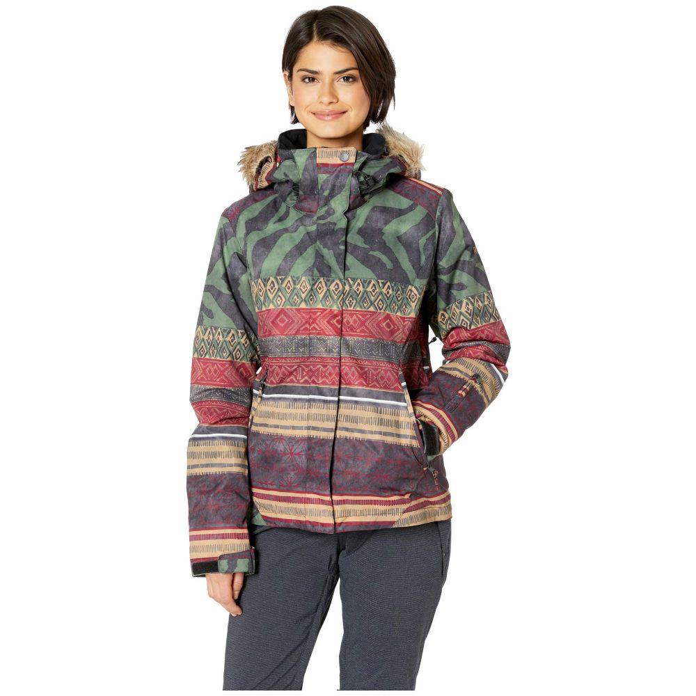 ロキシー Roxy レディース スキー・スノーボード アウター【Jet Ski Se 10K Jacket】True Black Wild Ethnic
