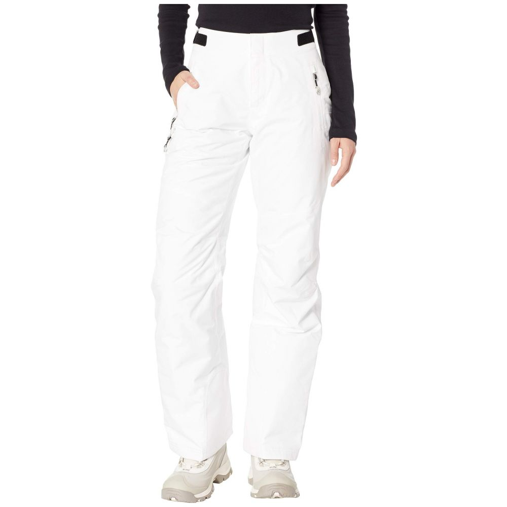 スパイダー Spyder レディース スキー・スノーボード ボトムス・パンツ【Winner Regular Pants】White/White