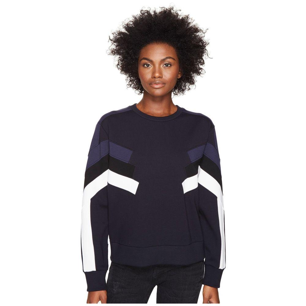 ニール バレット Neil Barrett レディース トップス スウェット・トレーナー【Modernist Retro Sweatshirt I】Black/Blue