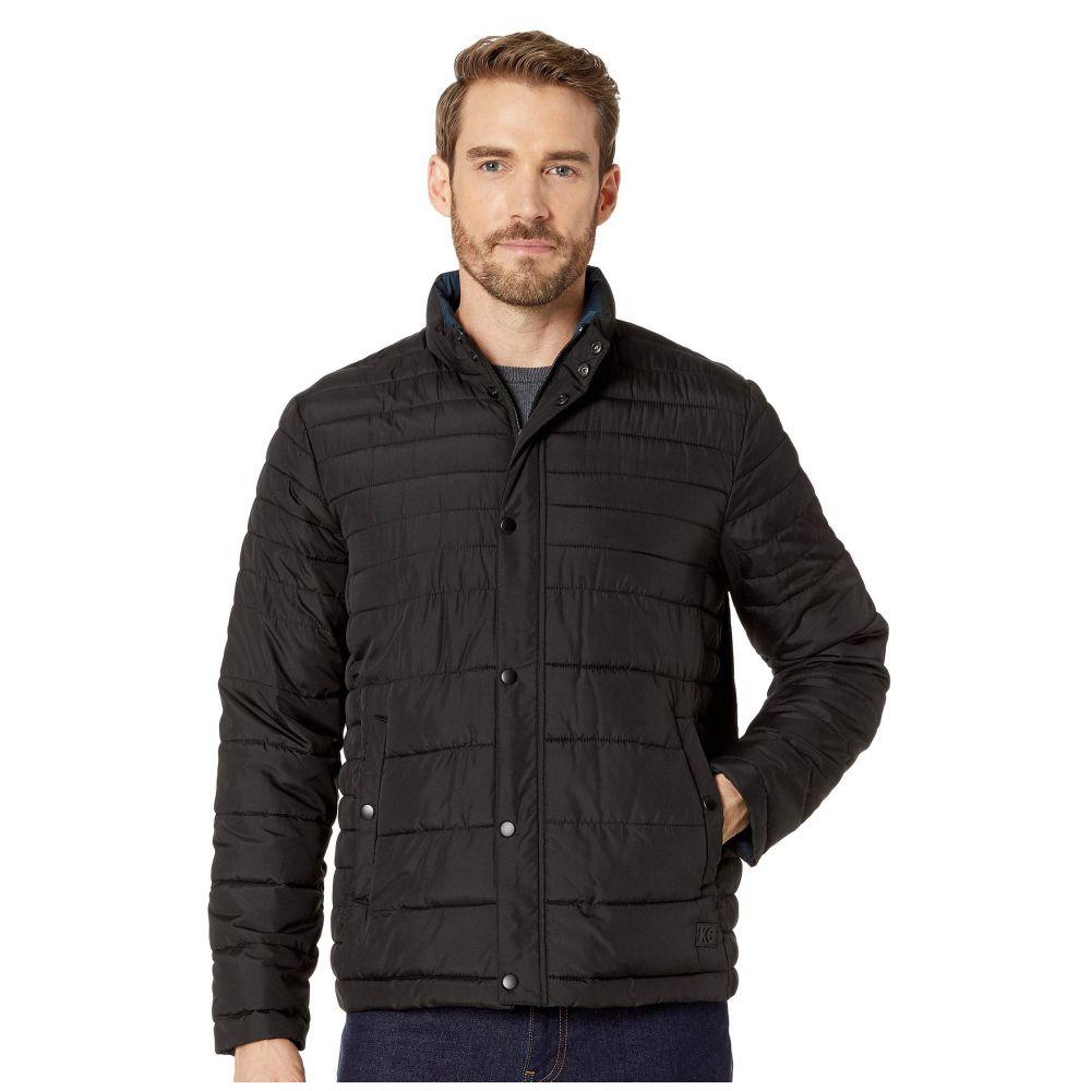 ケネス コール Kenneth Cole New York メンズ アウター ダウン・中綿ジャケット【Horizontal Basic Puffer Jacket】Black