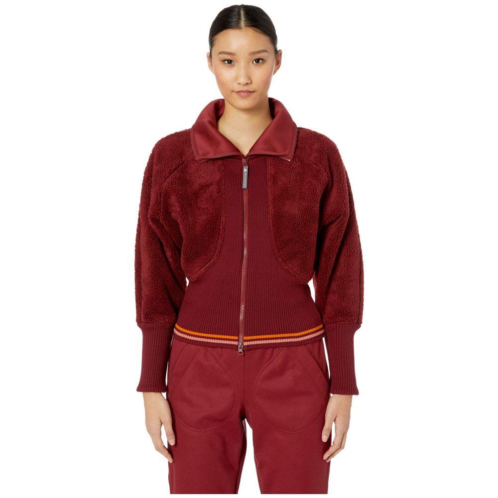 アディダス adidas by Stella McCartney レディース トップス フリース【Training Fleece CZ3967】Noble Maroon F18