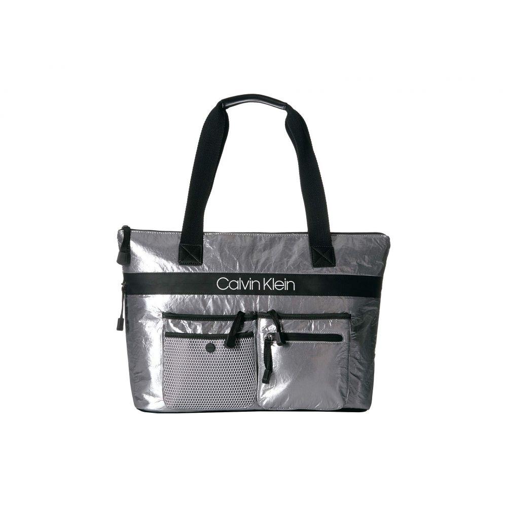 カルバンクライン Calvin Klein レディース バッグ トートバッグ【Tabbie Reflective Nylon Tote】Grey