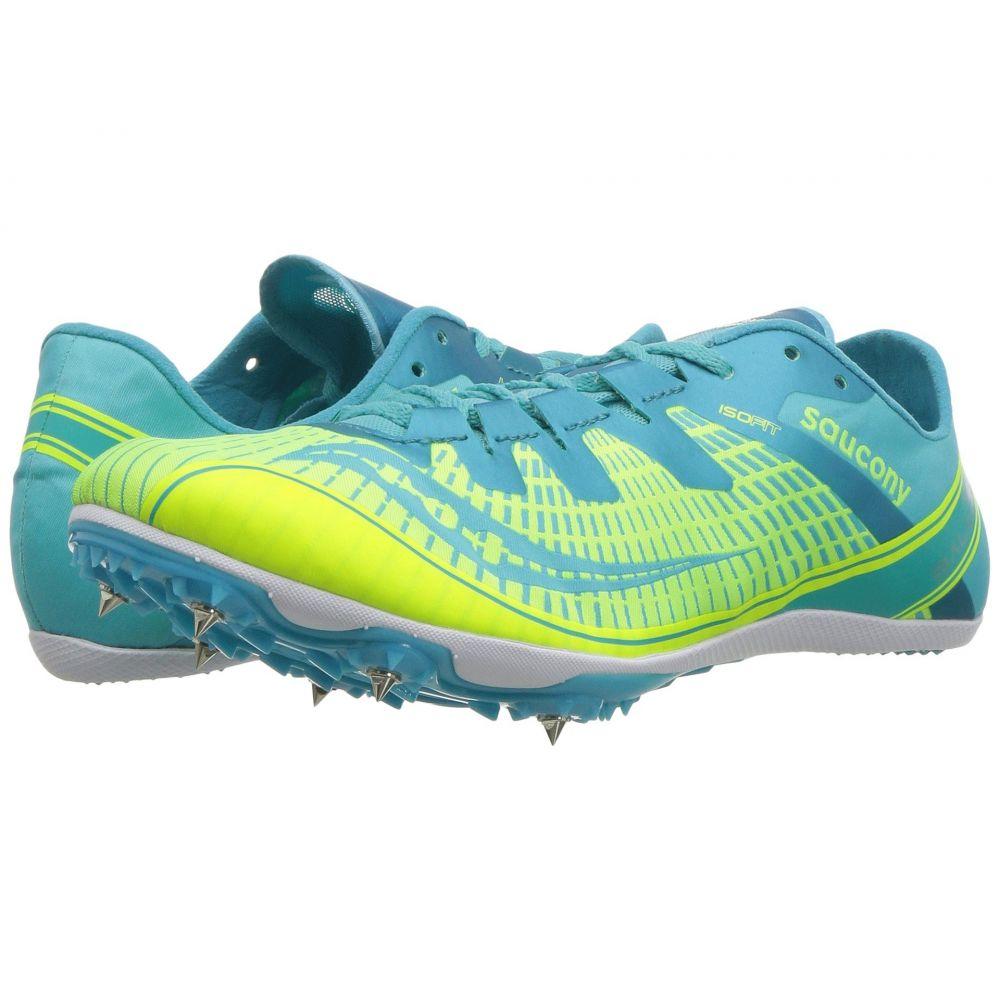 サッカニー Saucony レディース ランニング・ウォーキング シューズ・靴【Ballista 2】Green/Blue