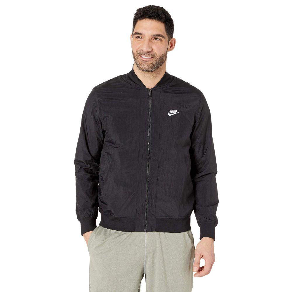 ナイキ Nike メンズ アウター ジャケット【NSW Woven Players Jacket】Black/White