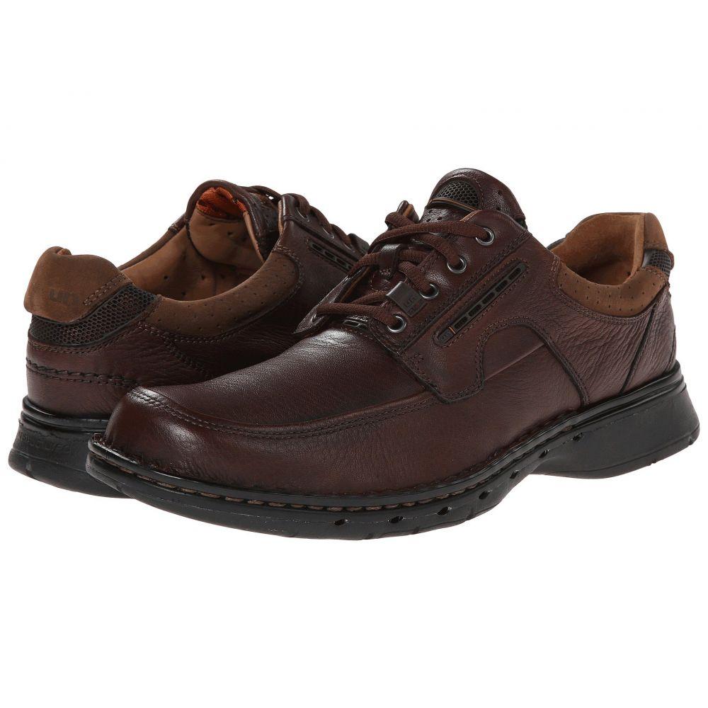 クラークス Clarks メンズ シューズ・靴 革靴・ビジネスシューズ【Un.bend】Brown Leather
