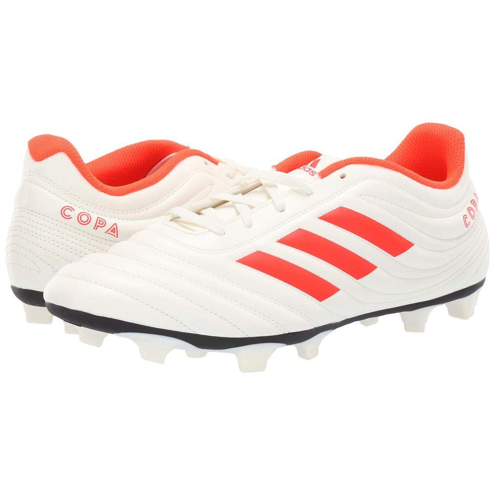 アディダス adidas メンズ サッカー シューズ・靴【Copa 19.4 FG】Off-White/Solar Red/Off-White