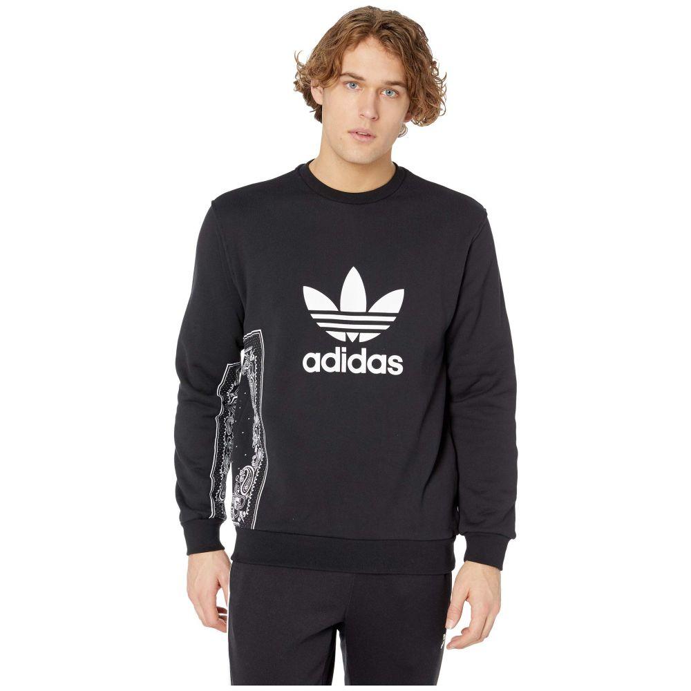 アディダス adidas Originals メンズ トップス【Bandana Crew Neck】Black