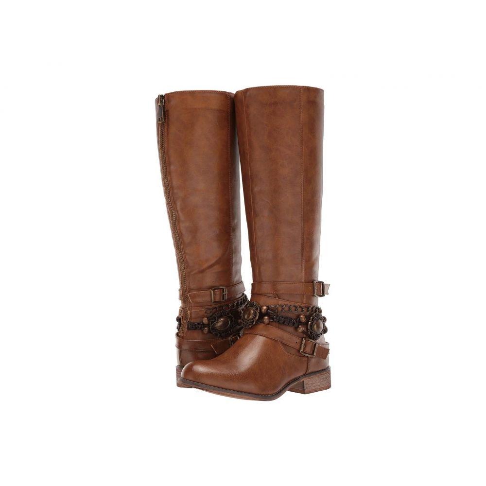 ローパー Roper レディース シューズ・靴 ブーツ【Penny】Burnished Tan Faux Leather