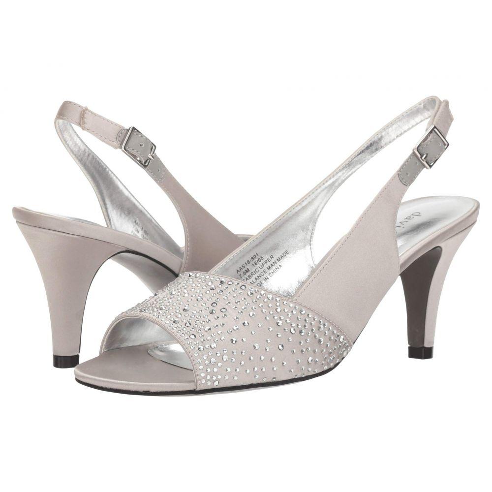 デイビッド テイト David Tate レディース シューズ・靴 パンプス【Stunning】Silver