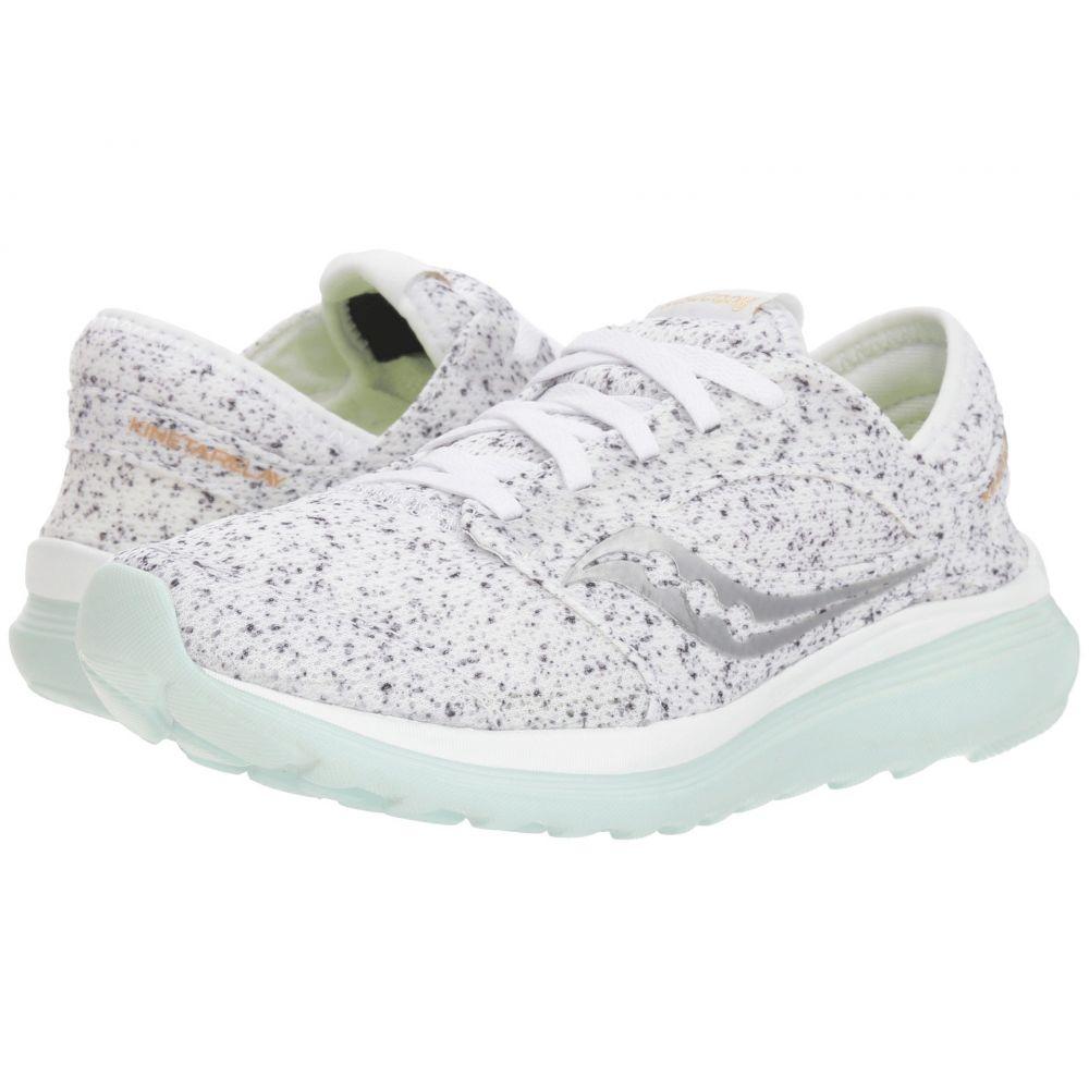 サッカニー Saucony レディース ランニング・ウォーキング シューズ・靴【Kineta Relay】White
