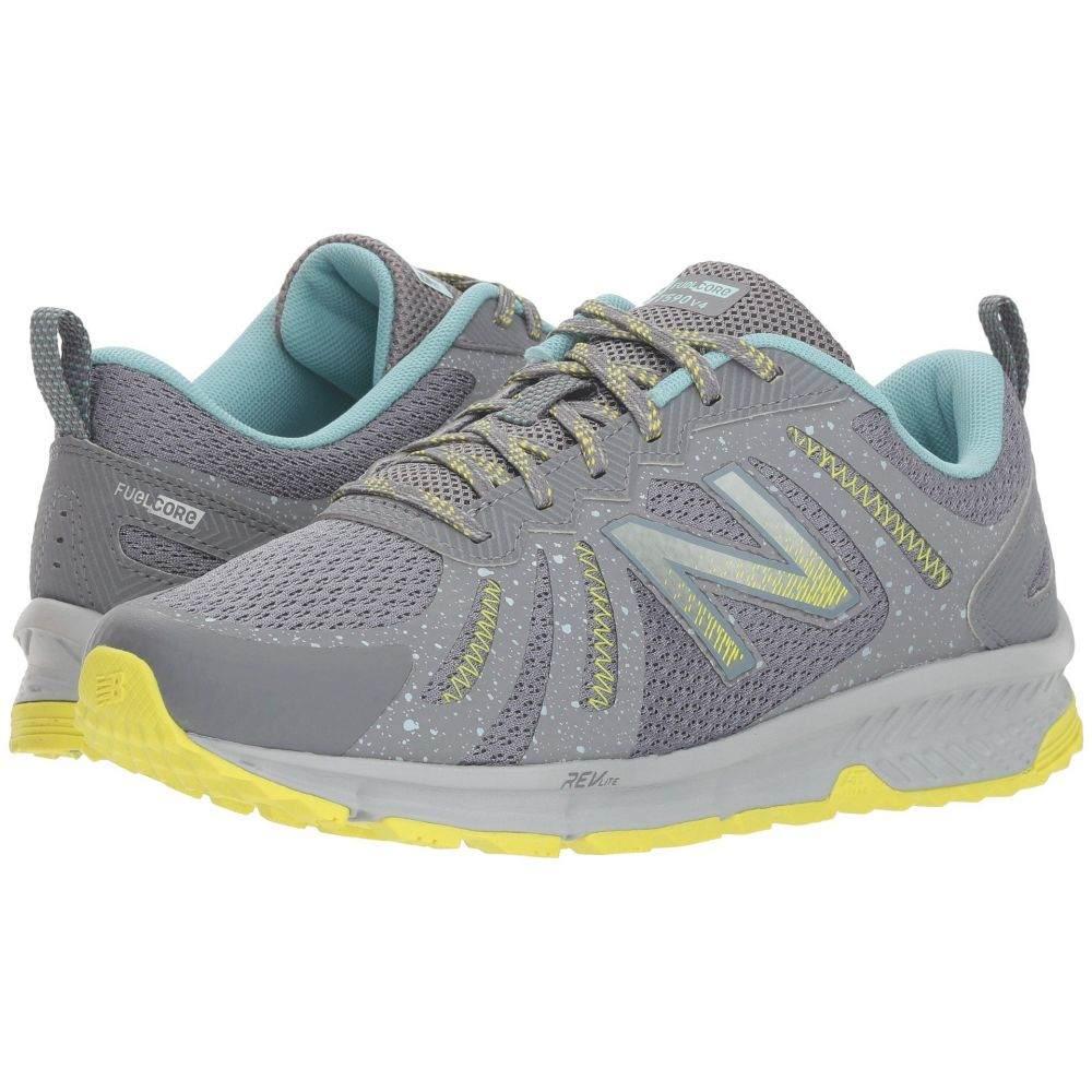 ニューバランス New Balance レディース ランニング・ウォーキング シューズ・靴【Trail 590v4】Gunmetal/Limeade