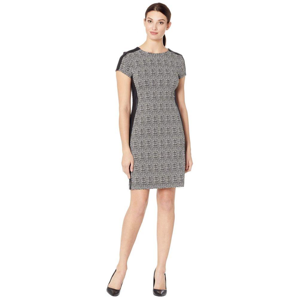 カレンケーン Karen Kane レディース ワンピース・ドレス ワンピース【Euro Knit Dress】Black/White