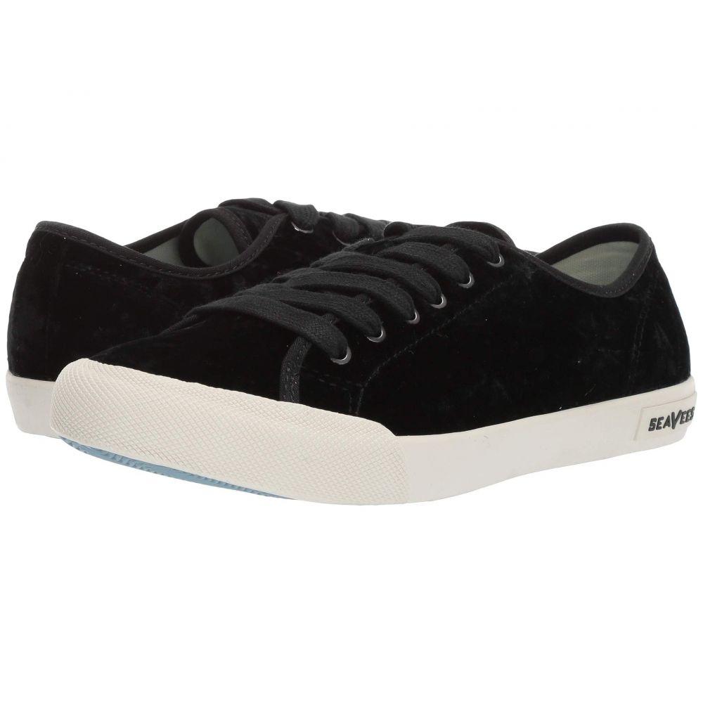 シービーズ SeaVees レディース シューズ・靴 スニーカー【Monterey Sneaker Crush】Black