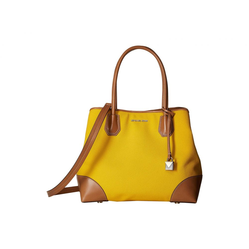 マイケル コース MICHAEL Michael Kors レディース バッグ トートバッグ【Mercer Gallery Medium Center Zip Tote】Jasmine Yellow