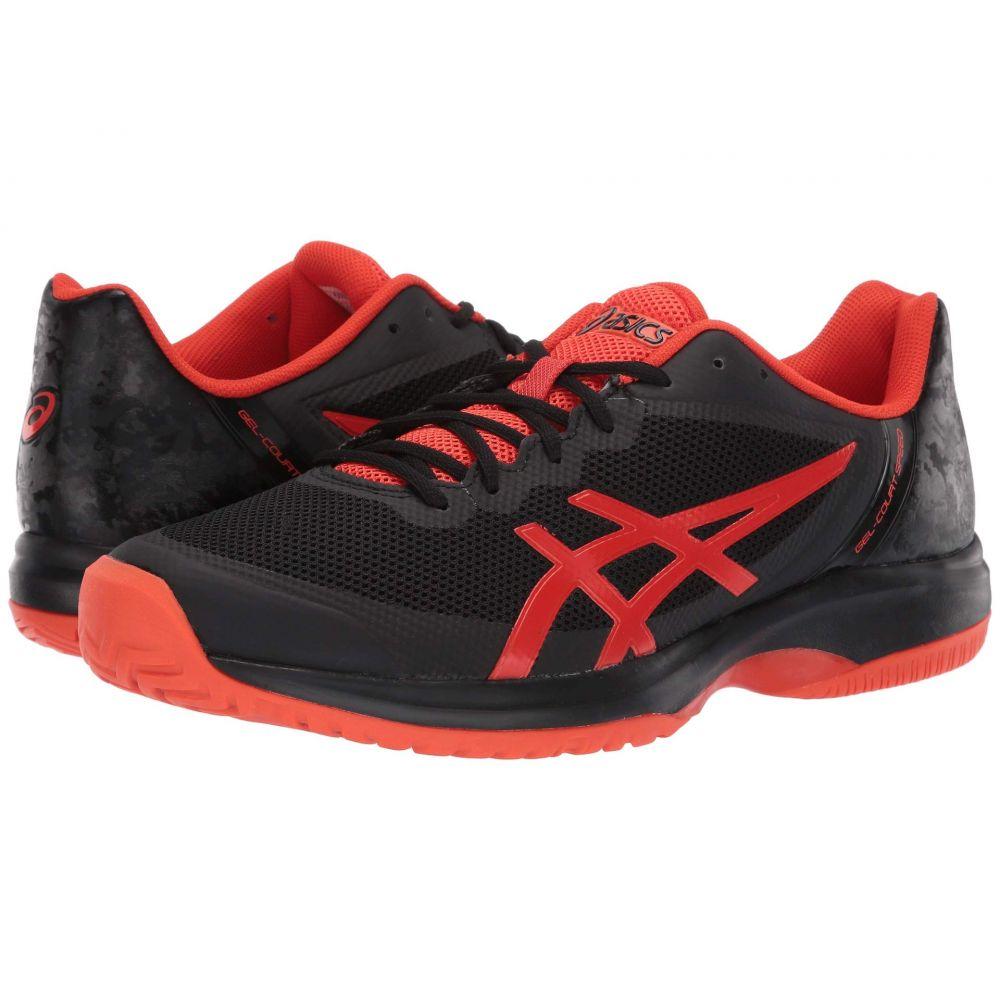 アシックス ASICS メンズ テニス シューズ・靴【Gel-Court Speed】Black/Cherry Tomato