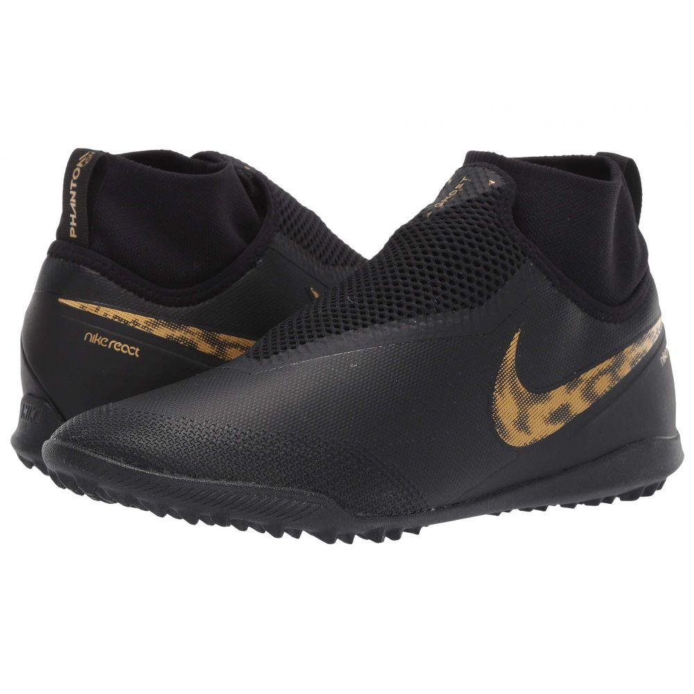 ナイキ Nike メンズ サッカー シューズ・靴【React Phantom VSN Pro DF TF】Black/Metallic Vivid Gold