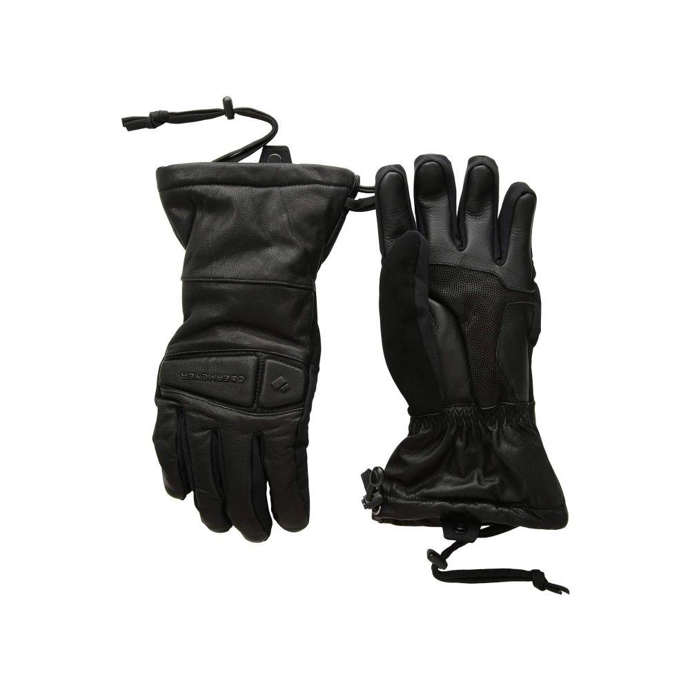 オバマイヤー Obermeyer メンズ スキー・スノーボード グローブ【Eclipse Leather Gloves】Black
