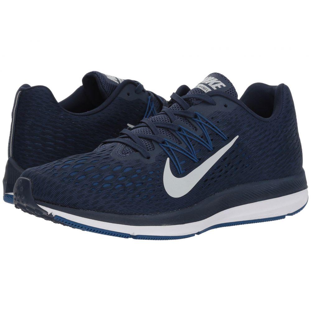 ナイキ Nike メンズ ランニング・ウォーキング シューズ・靴【Air Zoom Winflo 5】Midnight Navy/Pure Platinum