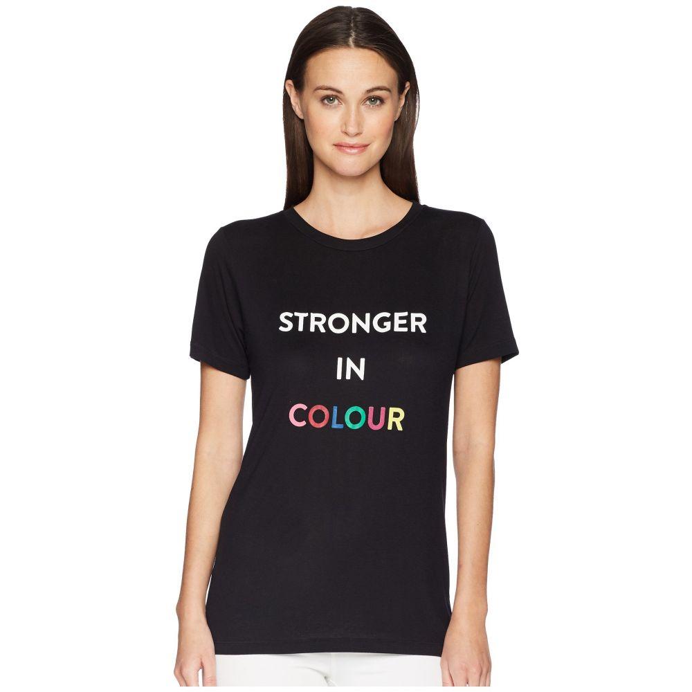 プラバル グルン Prabal Gurung レディース トップス Tシャツ【Printed Stronger in Colour Tee】Black