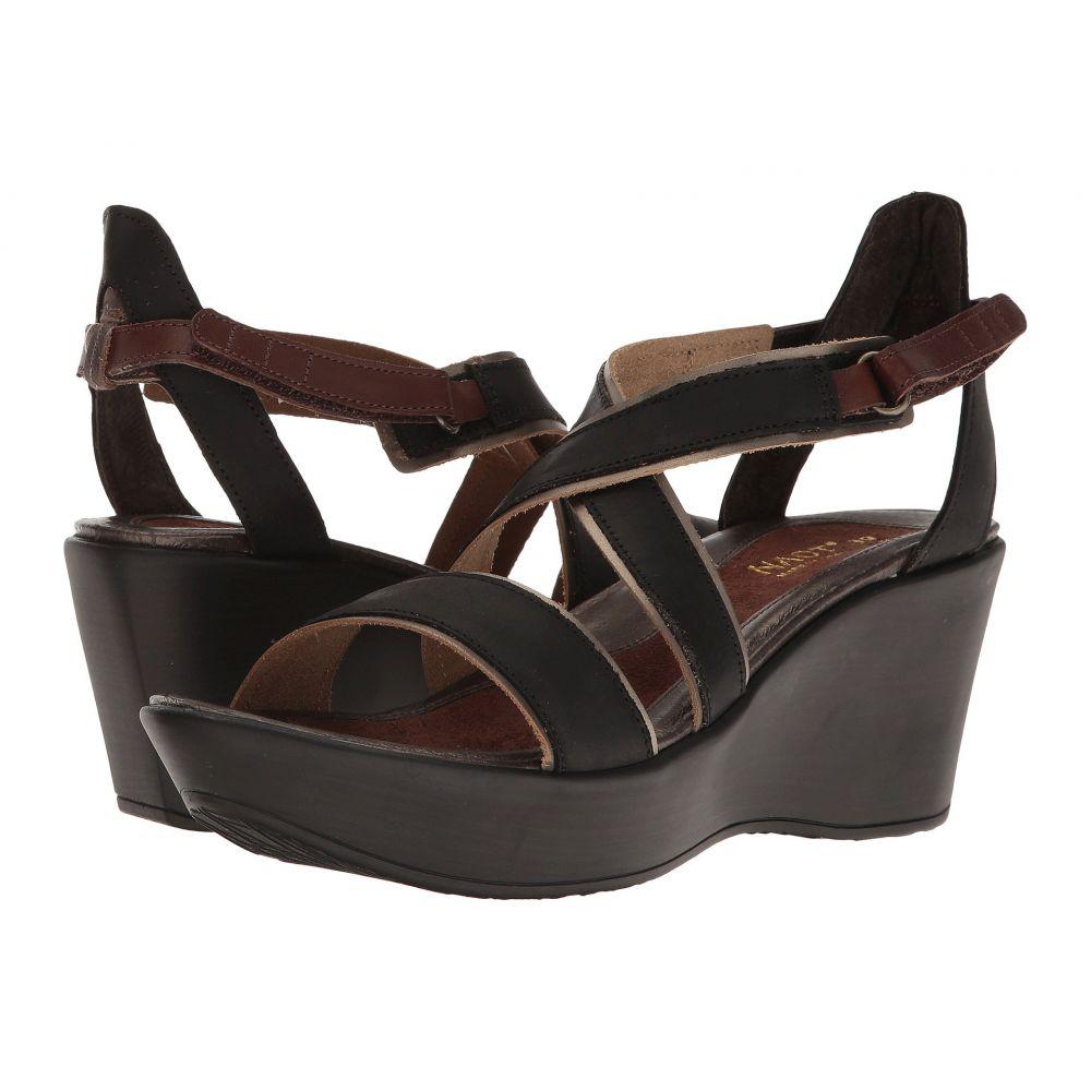 ナオト Naot レディース シューズ・靴 サンダル・ミュール【Gesture】Oily Coal Nubuck/Pewter Leather/Brown Haze Leather/Toffee Brown