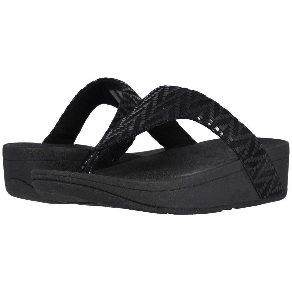 フィットフロップ FitFlop レディース シューズ・靴 ビーチサンダル【Lottie Chevron】Black