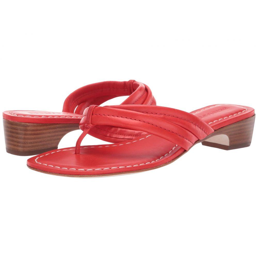 ベルナルド Bernardo レディース シューズ・靴 ビーチサンダル【Miami Demi Heel Sandals】Tomato Antique Calf