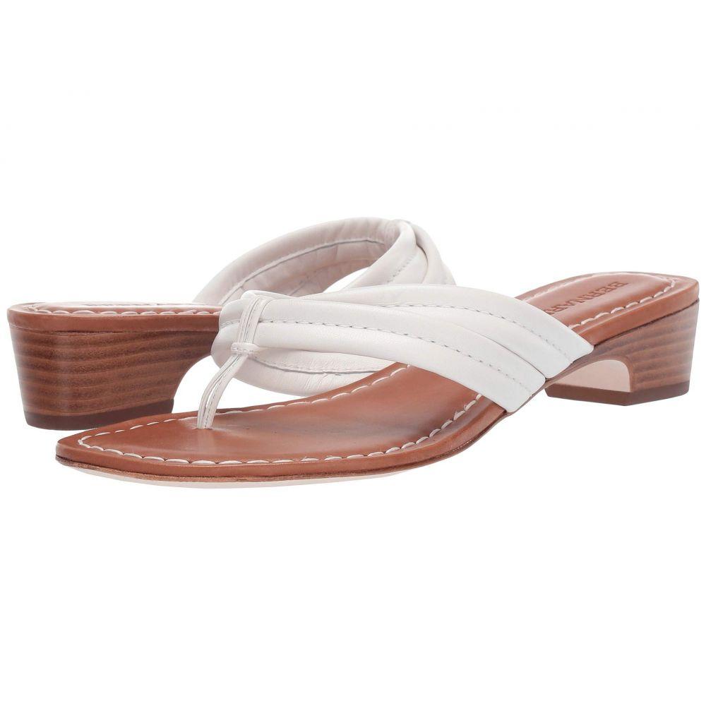 ベルナルド Bernardo レディース シューズ・靴 ビーチサンダル【Miami Demi Heel Sandals】White Antique Calf