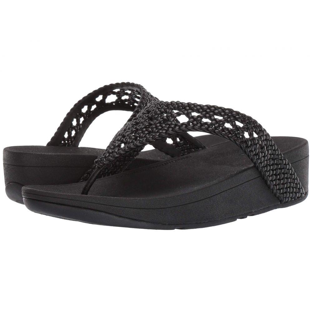 フィットフロップ FitFlop レディース シューズ・靴 ビーチサンダル【Lottie Wicker】Black