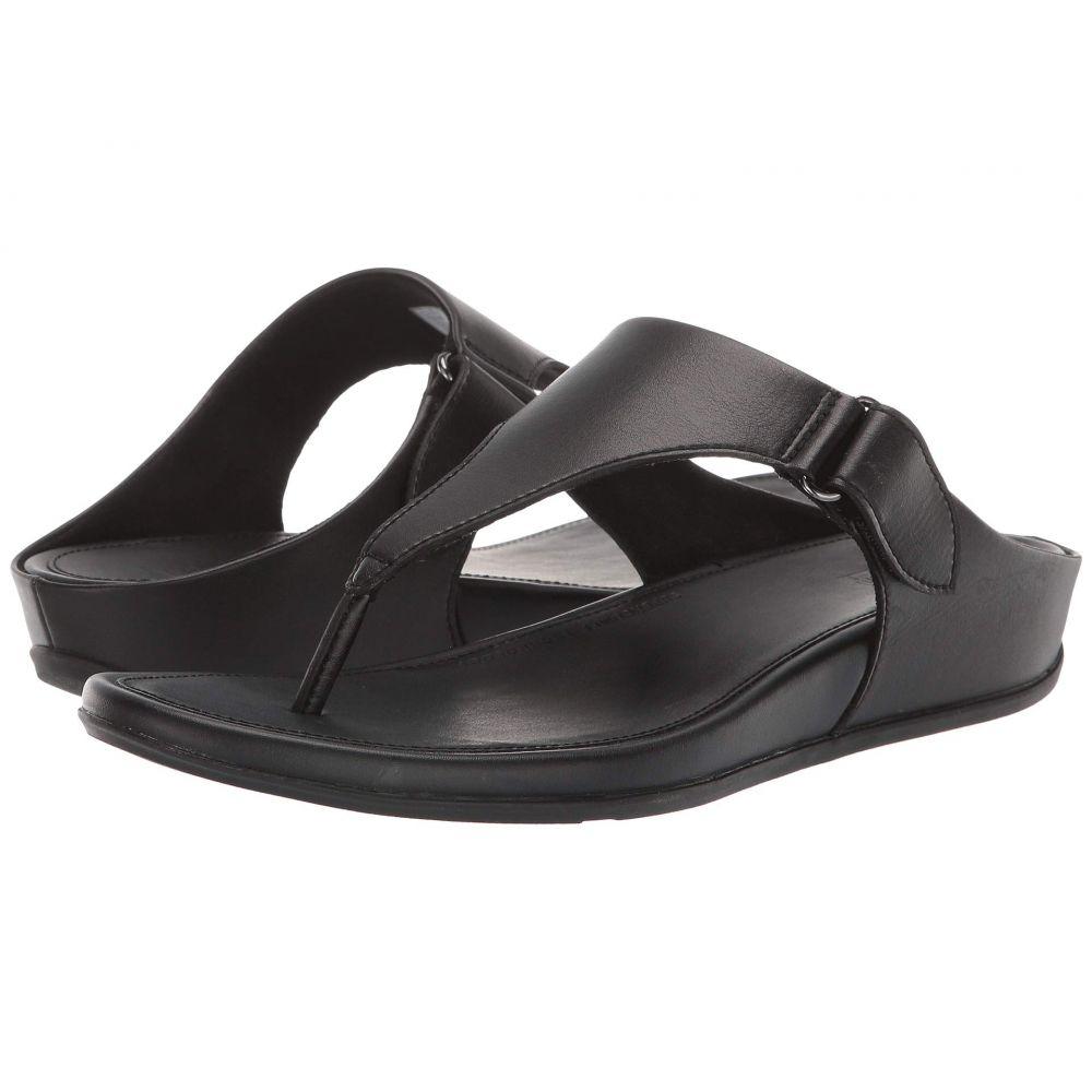 フィットフロップ FitFlop レディース シューズ・靴 ビーチサンダル【Vera Toe - Thongs】All Black