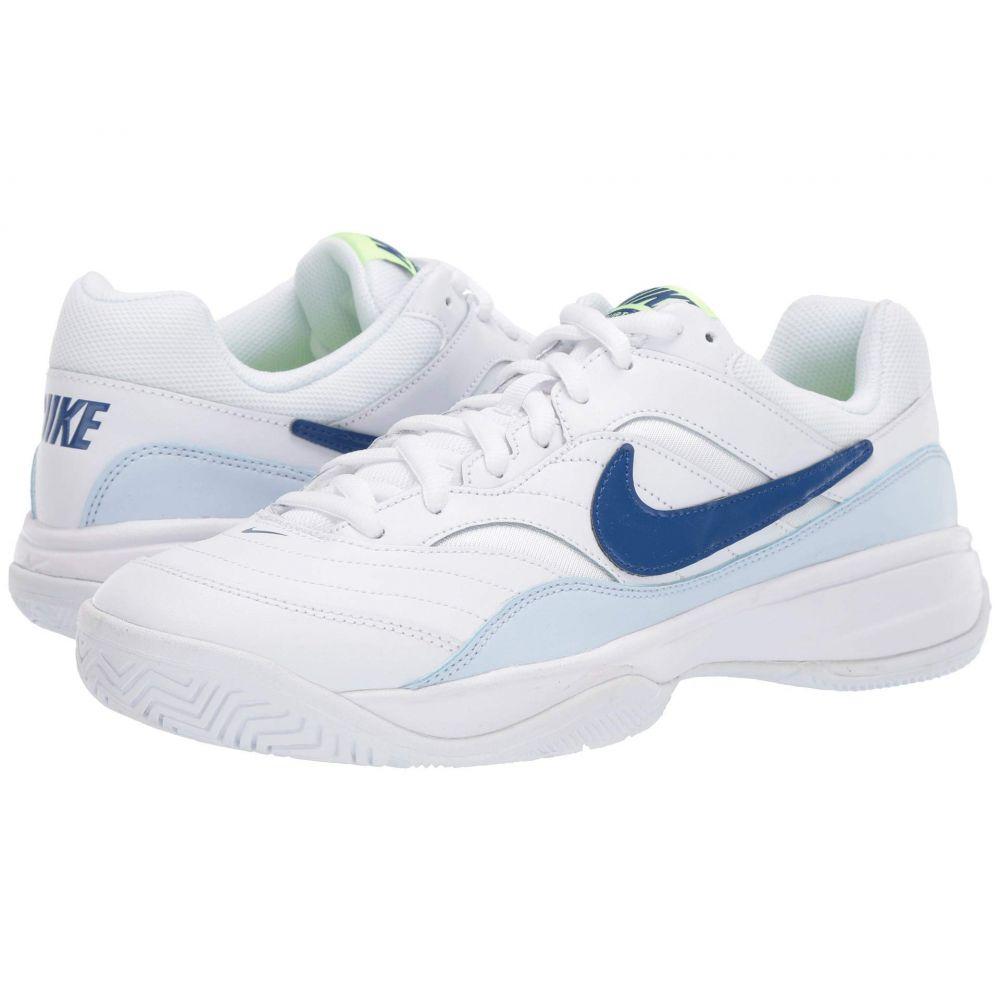 ナイキ Nike メンズ テニス シューズ・靴【Court Lite】White/Indigo Force/Half Blue/Volt Glow