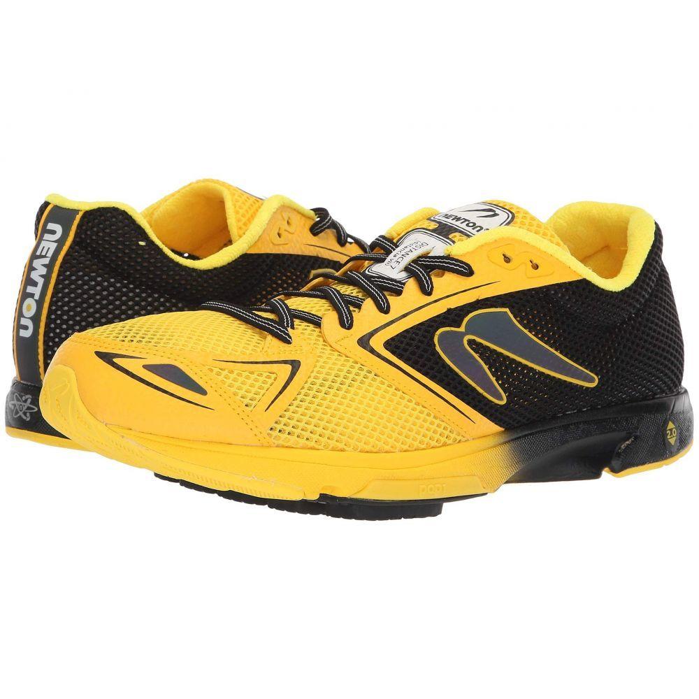 ニュートンランニング Newton Running メンズ ランニング・ウォーキング シューズ・靴【Distance 7】Black/Yellow