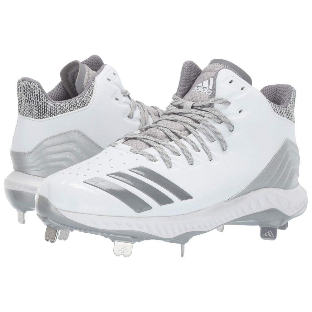 アディダス adidas メンズ 野球 シューズ・靴【Icon Bounce Mid】Footwear White/Grey Three F17/Grey Two F17